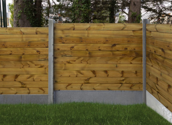 The Montenotte Planed Fence Panel