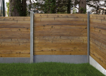 The Montenotte Ribbed Fence Panel