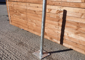 Bolt down Galvanised Post Support