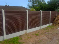 PVC Fence Panels - Fully Double Sided